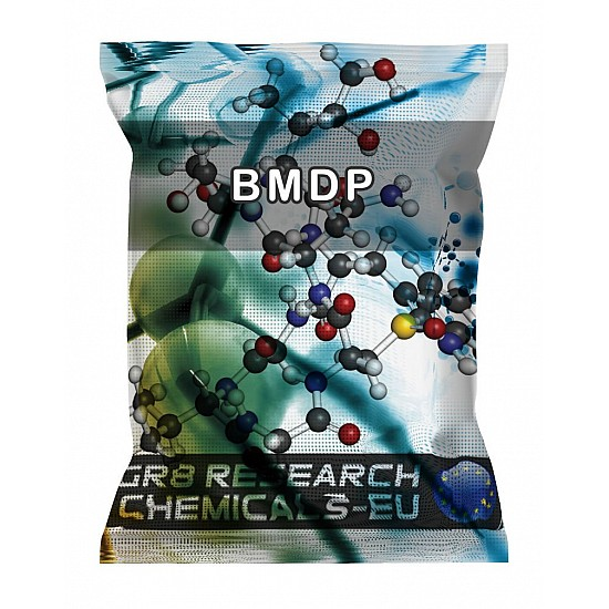 Package containing BMDP research chemical