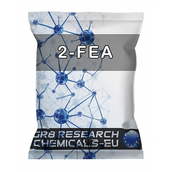Package containing 2-FEA Hydrochloride research chemical