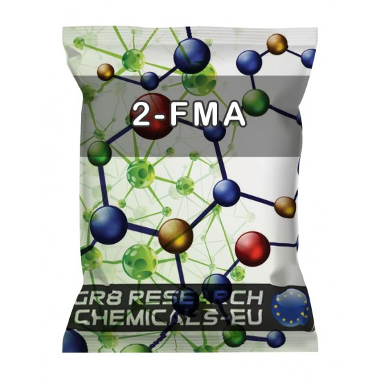 Package containing 2-FMA Hydrochloride research chemical