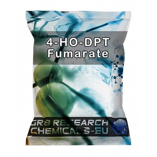 Package containing 4-HO-DPT Fumarate research chemical