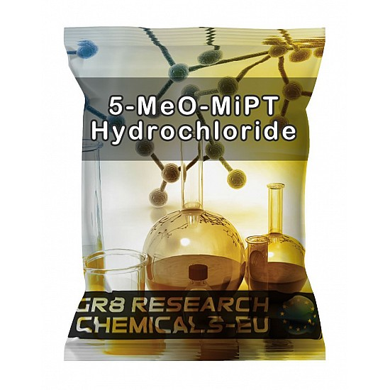 Package containing 5-MeO-MiPT Hydrochloride research chemical