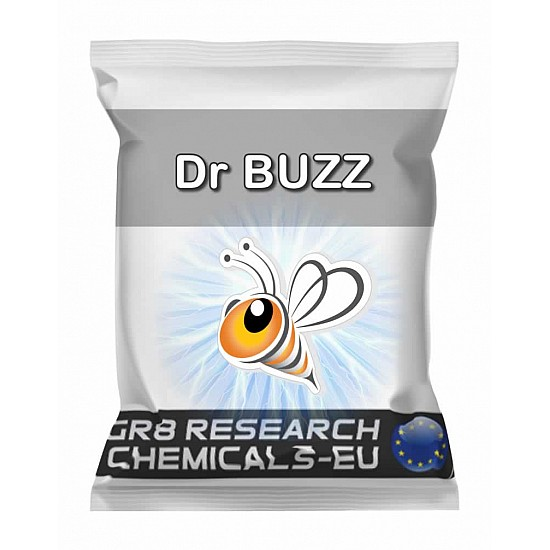 Package containing Dr Buzz Pellets research chemical