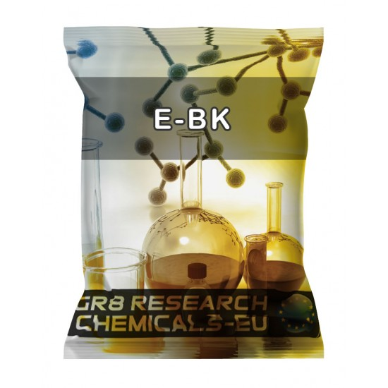 Package containing EBK that is available to buy, and also showing the chemical formula