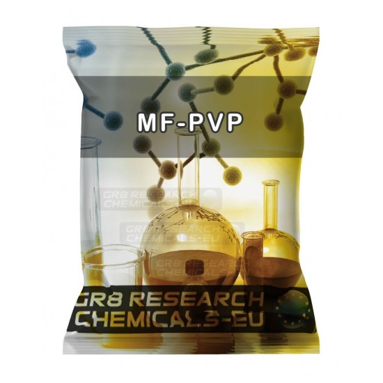 Package containing MF-PVP research chemical