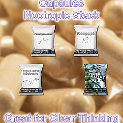 Mr Skippy Nootropic Stack capsules