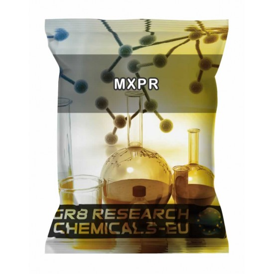 Package containing MXPr research chemical