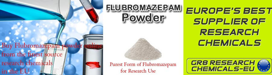 How to get Research Chemicals Online - Flubromazepam Powder